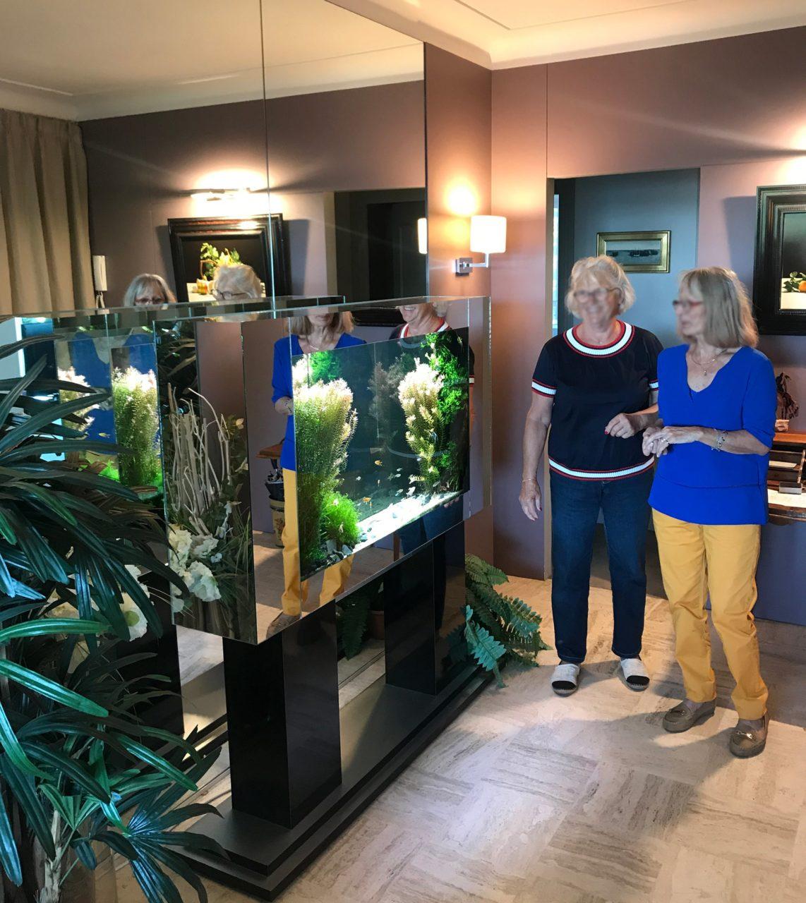 Aquarium miroir sur-mesure, 300L chez un particulier à Nantes